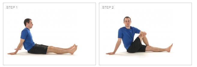 Stretching ITB / Piriformis